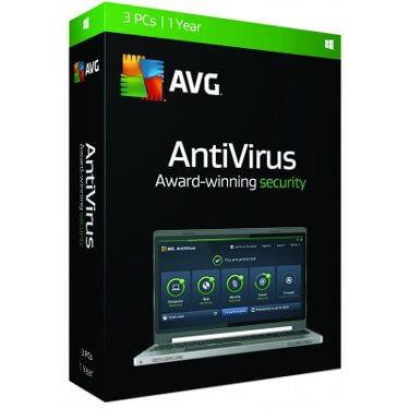AVG Antivirus 3-User 1Yr Eng/Fr