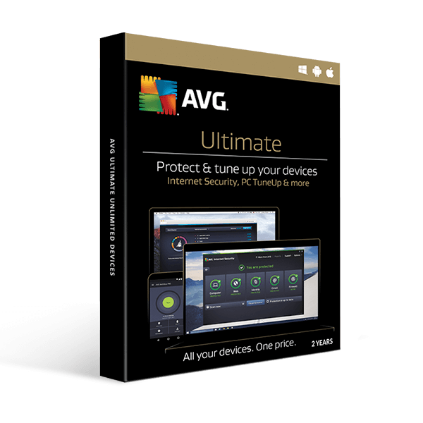 AVG Ultimate unlimited devices 2 Year