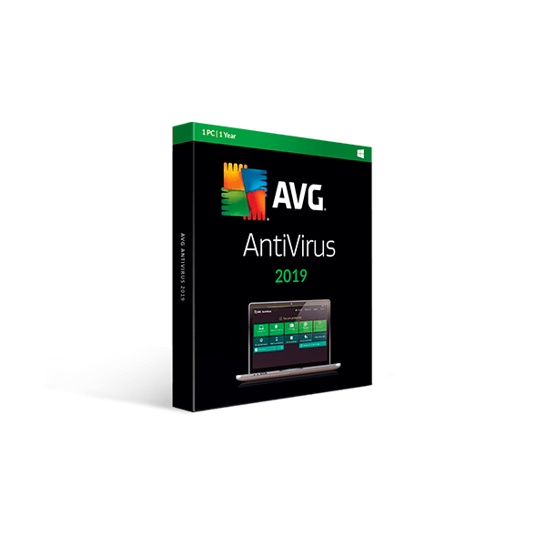 AVG Antivirus 2019 Retail electronic license – 1y1pc
