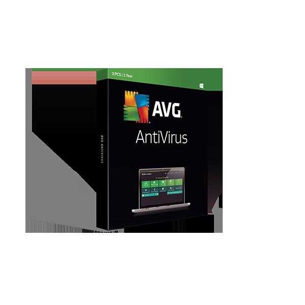 AVG Antivirus 1y3pc Retail Box