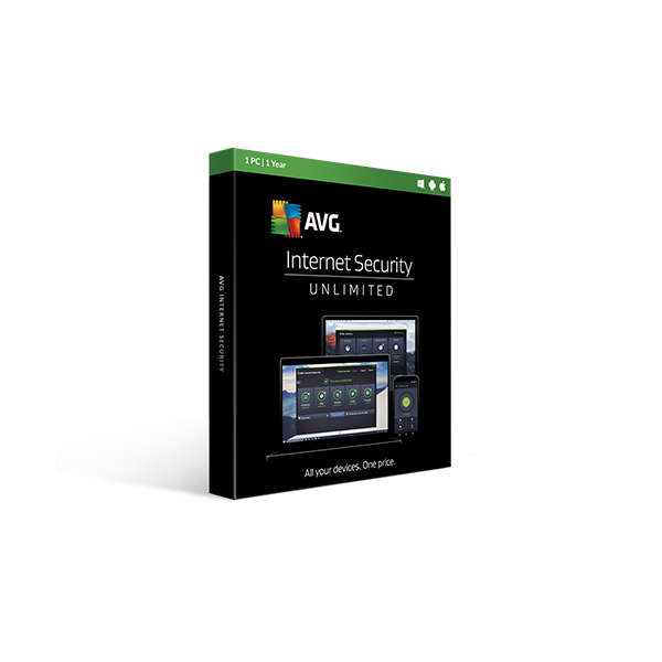AVG Internet Security 1y1pcelectronic license