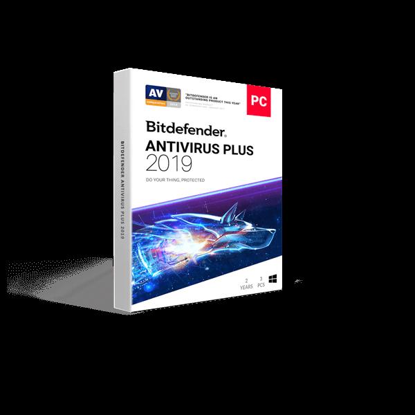 Bitdefender Antivirus Plus 3 PC 2019 Unique Global Activation Code 1 Year