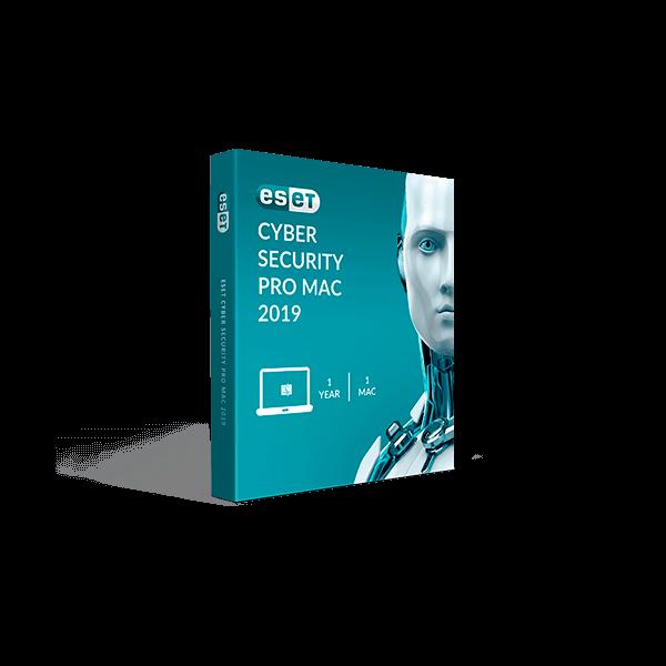 Eset Cyber Security Pro Mac 2019 V12 (1YR, 1Mac) Download