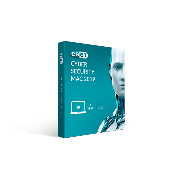 Eset Cyber Security Mac 2019 V12 (1YR, 1Mac) Download