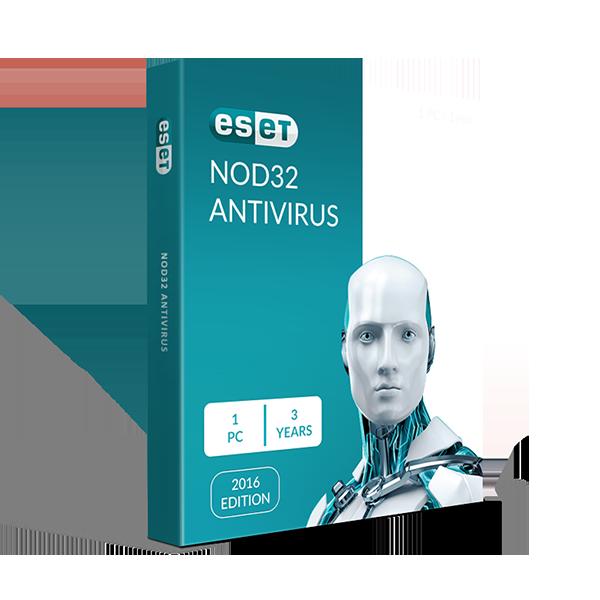 Eset Nod32® Antivirus 1PC 3YRS