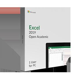 Microsoft Excel 2019 Open Academic