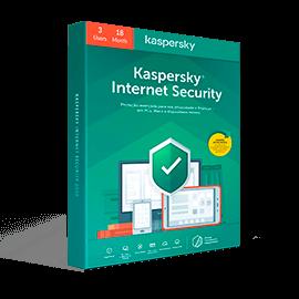 Kaspersky Internet Security 2020 3-User 18 Months