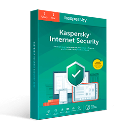 Kaspersky Internet Security (3 Pc / 1 Year)