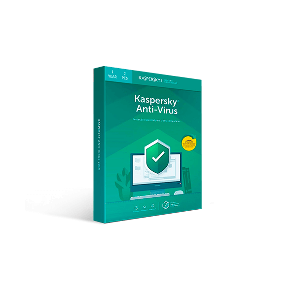 Kaspersky Anti-Virus 2019 - 1-Year / 3-PC Download