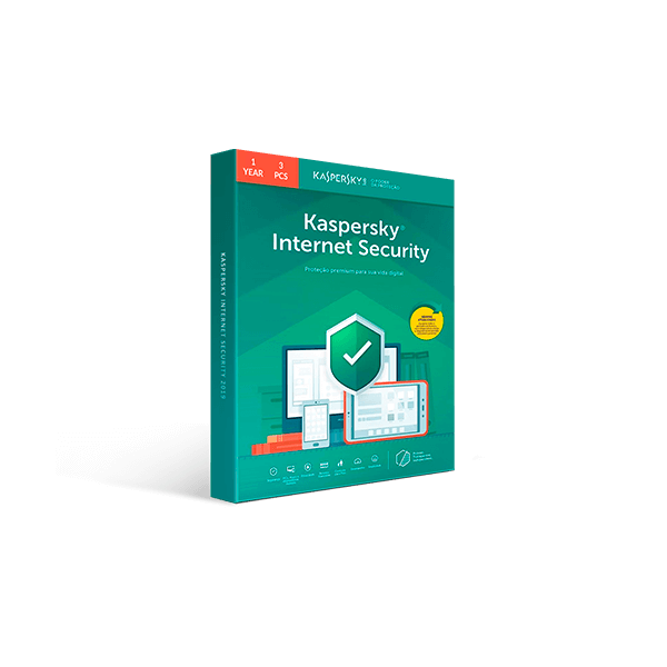 Kaspersky Internet Security 2019 - 1-Year / 3-Device Download