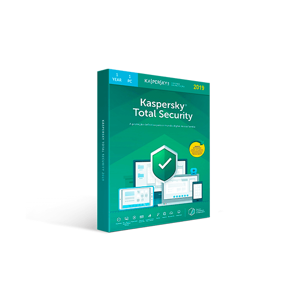 Kaspersky Total Security 2019 - 1-Year / 1-Device Download