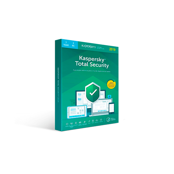 Kaspersky Total Security 2019 - 1-Year / 3-Device Download