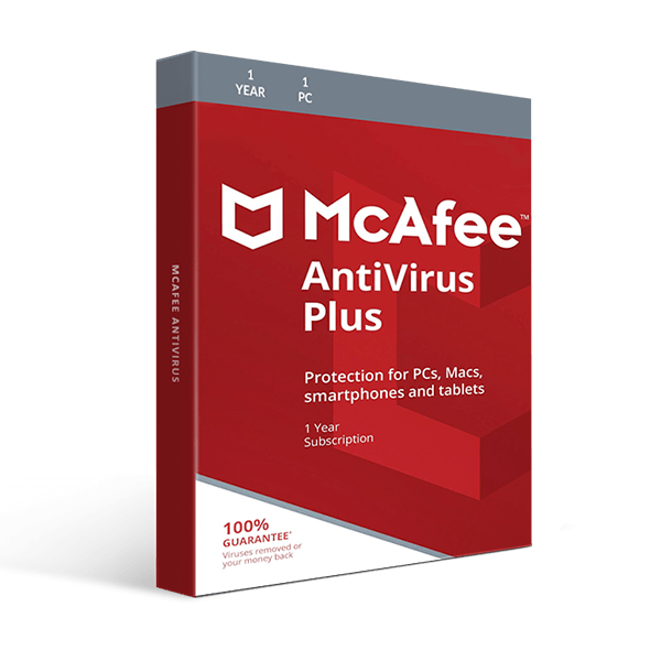 McAfee Antivirus 1-PC / 1-Year