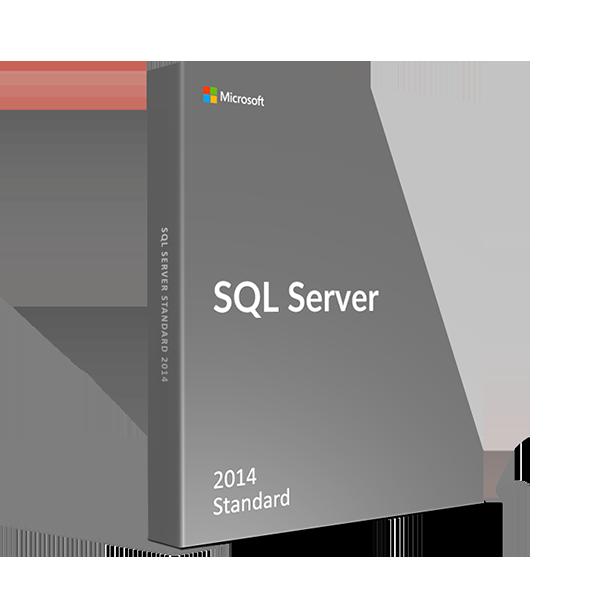 Microsoft Retail SQL Server Standard 2014 English Only DVD 10 Clt