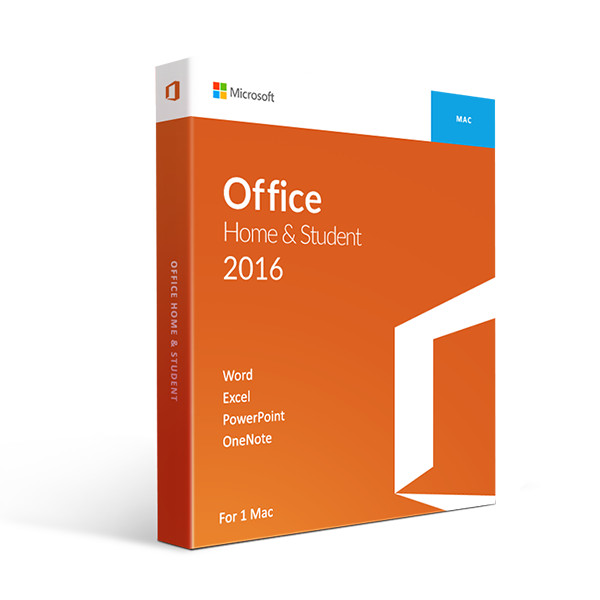 Microsoft Office 2016 Home And Student For Mac Retail Box - 1 User
