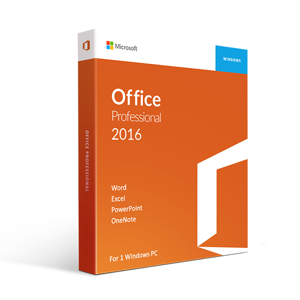 Microsoft Office 2016 Professional Plus International License