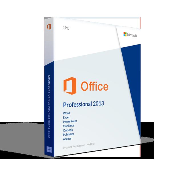 Microsoft Office 2013 Professional