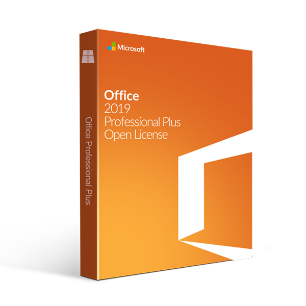 Microsoft Office 2019 Professional Plus Open Academic