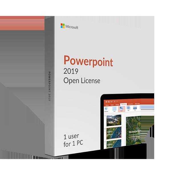 Microsoft Powerpoint 2019 Open License