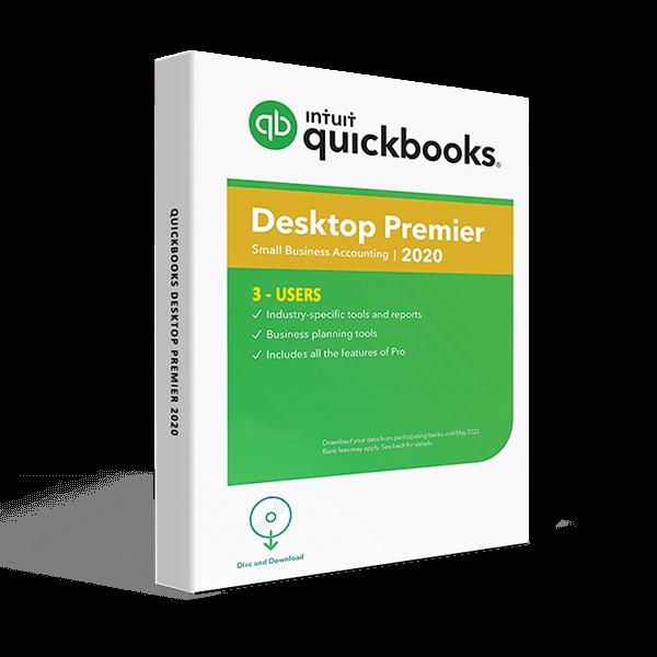 QuickBooks Desktop Premier 2020 – 3 User