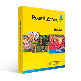 Rosetta Stone Spanish Latin America TOTALE Level 1-5