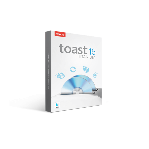 Roxio Toast 16 Titanium Retail Box