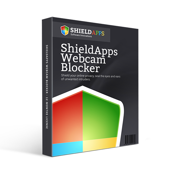 ShieldApps Webcam Blocker - 12 Months License