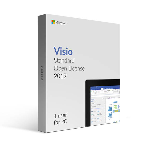 Microsoft Visio 2019 Standard Open License