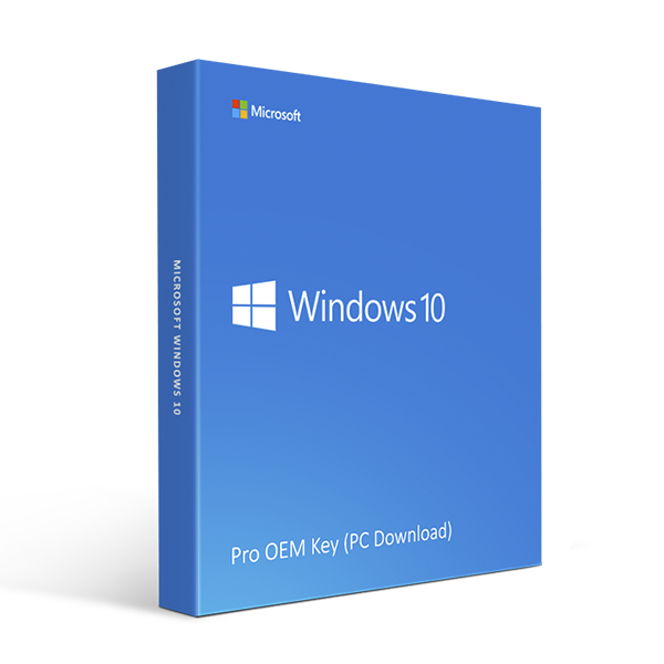 Microsoft Windows 10 Pro OEM Key (PC Download)