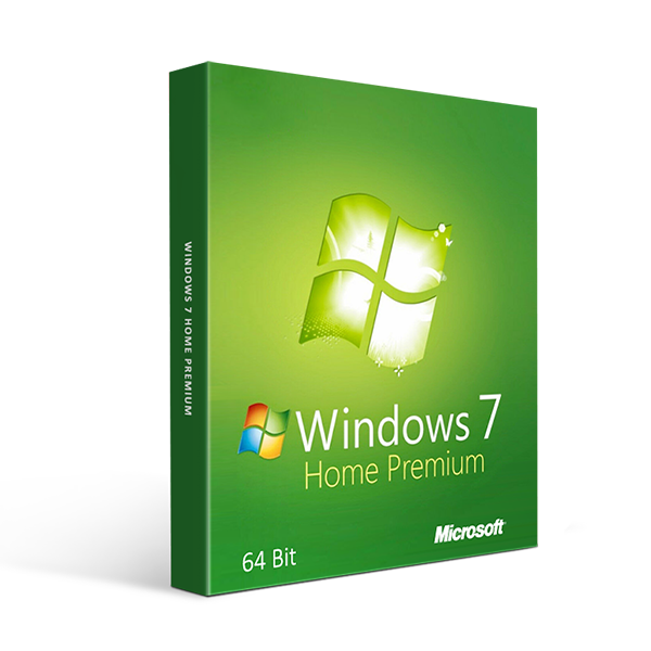 Microsoft Windows 7 Home Premium 64 Bit