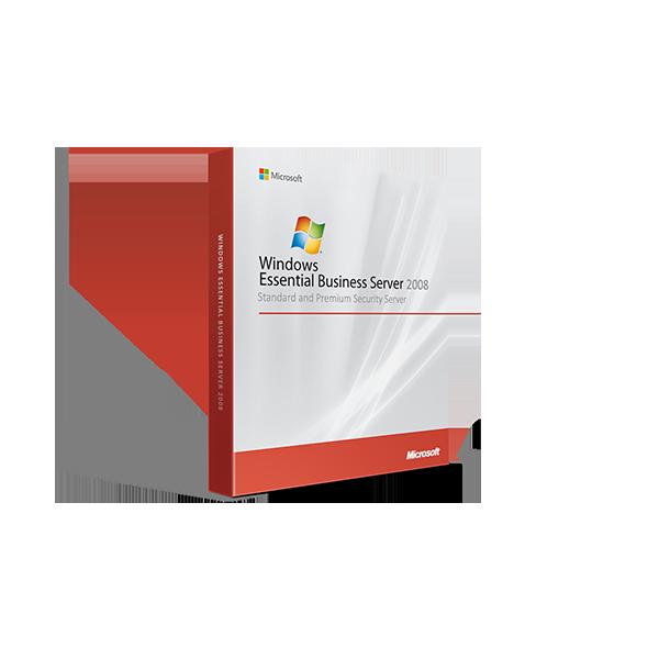 Windows Essential Business Server 2008 Standard and Premium Security Server