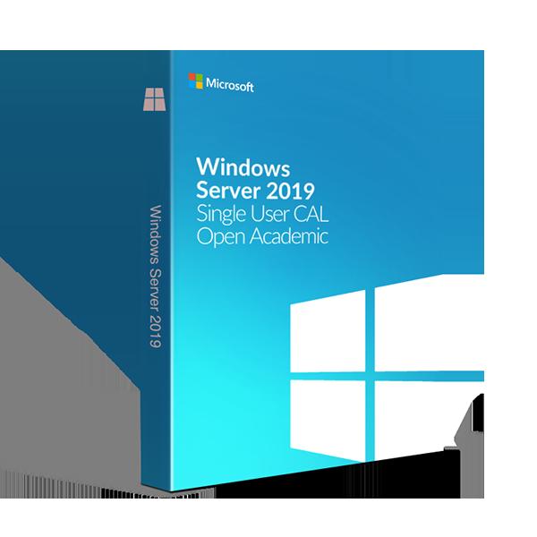 Microsoft Windows Server 2019 Single User CAL - Open Academic