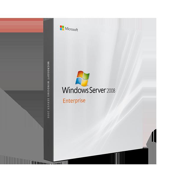 Install 20 CAL Windows Server 2008 R2 Enterprise x64 Full 8 CPU License