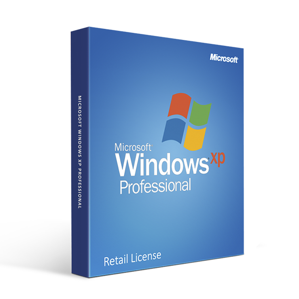 Microsoft Windows XP Professional Retail License